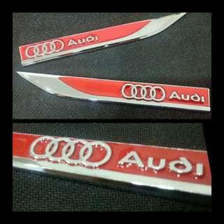 Audi Side Fender Emblem