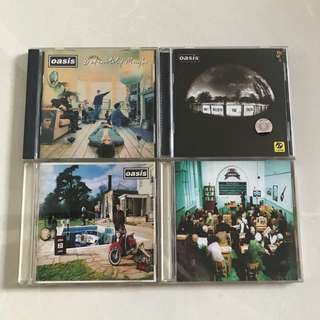 Oasis CD collection