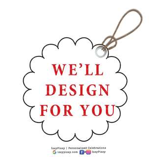 Customised Thank You Tags for Kid's Birthday Party