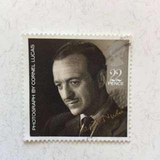 1985年 Film Stars 英國郵票一套四款