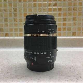 Tamron 18-270mm pzd Di II VC lens