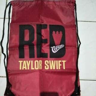 Tas punggung serut Taylor Swift The RED Tour