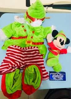 迪士尼Duffy小熊公仔更換小仙子衣物全套6件