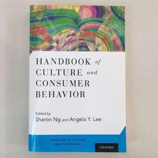 BRAND NEW Handbook of culture and consumer behavior