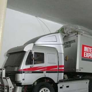 貨櫃車 1:14 拖頭連貨櫃及配件