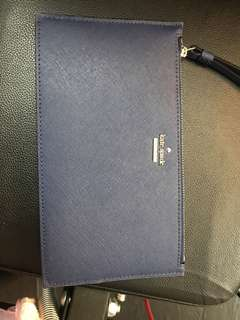 💯 新 Kate Spade clutch bag