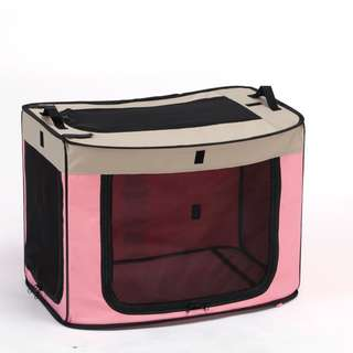 Marukan One Touch Cage Pink