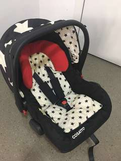 Cosatto Hold 0+ car seat