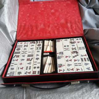 Mini Mahjong set from japan