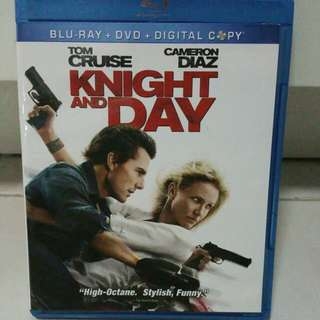 Knight And Day Blu Ray + Dvd For Sale! Tom Cruise Cameron Diaz