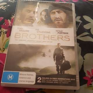 Brothers DVD. Ex-Rental