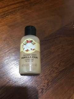 Vanilla Chai Shower Gel. THE BODY SHOP