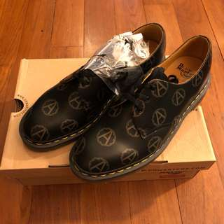 Supreme x Dr Martens x Undercover 3 EYE SHOE Black