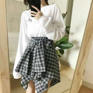 Korea style casual dress