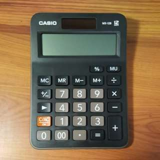 Casio Calculator MX-12B-BK