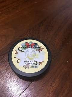 Vanilla Chai Body Butter. THE BODY SHOP