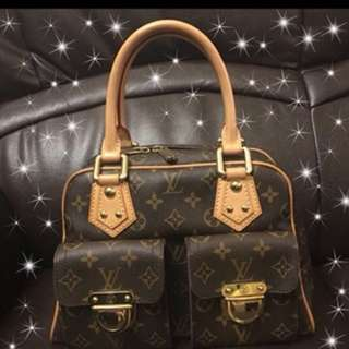 LV Louis Vuitton 雙金扣手袋