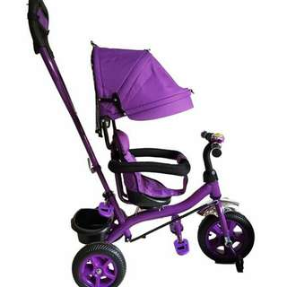 3 in 1 stroller bike with swing seat..