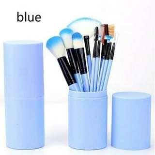 Set MakeUp Brush 12pcs Kuas Rias