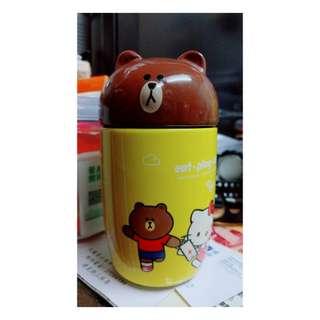 7-11 line + sanrio聯乘系列杯 (熊大+hello kitty)