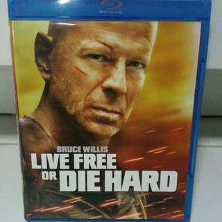 Live Free Or Die Hard Blu Ray Bruce Willis