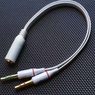 Y cable for audio