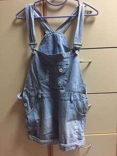 牛仔藍工人褲