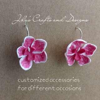 Wild Orchid Earrings