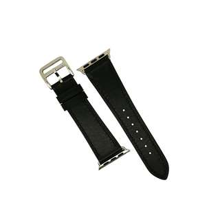 Apple Watch Leather Strap in Black