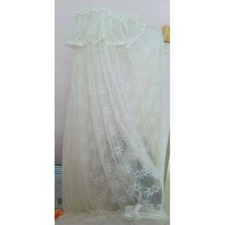 Mosquito net for baby cot