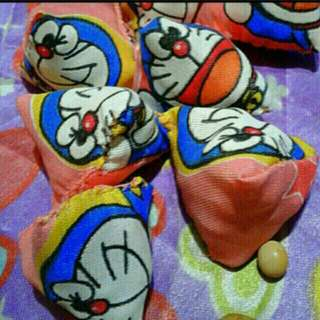 Doraemon xiao ding dang   Children Party Favours Five Stones old School Kampong Game