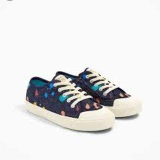 Zara kids denim sneakers size 28/29