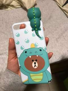 Line Friends iphone 7plus case *95% new*