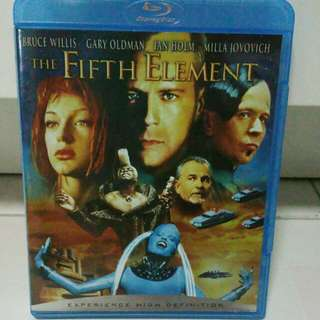 The Fifth Element Blu Ray for sale! Bruce Willis