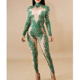 Green Gem Jumpsuit