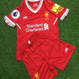 Liverpool kids jersey