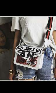 (preorder) thick sling bag