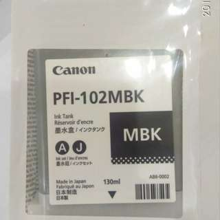 Canon Ink Cartridge PFI-102Bk/Mbk/Y/C/M