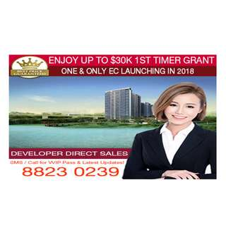 Rivercove Residences EC - One & only EC launch in 2018