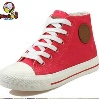 Brand New Red Converse Shoes Alike