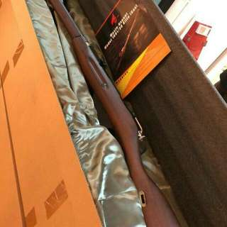 Mosin Nagant 步兵版,手拉gas bolt,真木托,鋁身,不連槍帶。