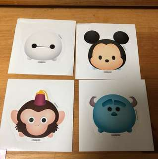 Disney Stickers 貼紙