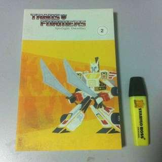 Transformers Spotlight Omnibus Vol 2