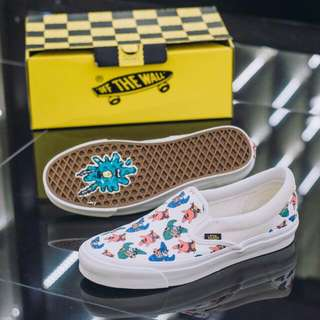 Authentic Vans Vault x Spongebob Classic Slipon