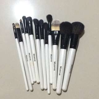 (FREE POUCH) MORPHE brushes