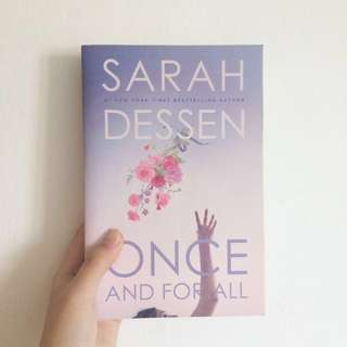 Once and For All by Sarah Dessen [Paperback]