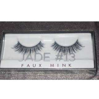 HUDA BEAUTY Faux Mink Lash Collection - Real Mink Fur False EyeLashes #13 JADE BRAND NEW & AUTHENTIC (NO OFFERS) LIMITED TIME ONLY