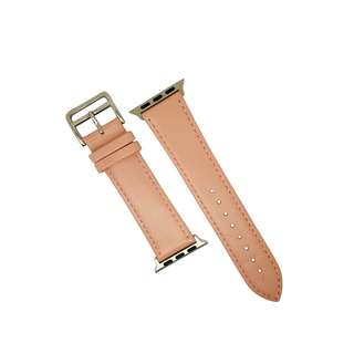 Apple Watch Leather Strap in Pink - Single Tour
