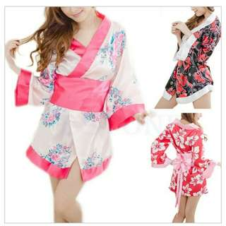 Sexy kimono sleepwear