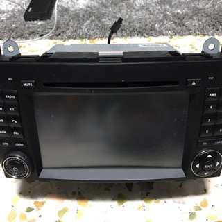 Merc Benz Car Head Unit